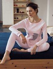 Mel Bee Ay Dede Baskılı Pijama Takımı Pembe Mbp23613 1