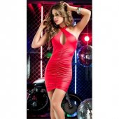 Mite Love Sırt Dekolteli Mini Elbise Kırmızı