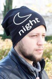Night Siyah Renk Erkek Bere