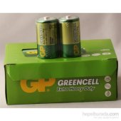 Gp Greencell Gp13g 2s2 R20 Çinko Kalın Pil (20li)