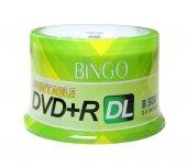 Bingo Dvd+r 8.5gb Dl 240mın 8x 50li Cake Prıntable...