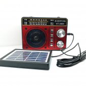 Güneş Enerjili Fenerli Şarjlı Mp3 Usb Fm Radyo Everton Vt 3084