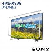 Sony 49xf8596 Tv Ekran Koruyucu Ekran Koruma Camı Etiasglass