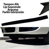 Automix Ön Tampon Altı Lip Ekonomik Siyah