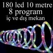 Led Işık 10 Metre Hortum Şerit Yılbaşı Süsleme Işığı Dış Mekan