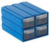 Sembol Plastik Set 304 Mavi Şeffaf Plastik Çekmece...