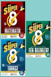 Nitelik 8. Sınıf Matematik, Türkçe, Fen Bilimleri Set