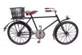 Dekoratif Metal Bisiklet Sepetli