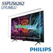 Phılıps 55pus6262 Tv Ekran Koruyucu Ekran Koruma Camı Etiasglass