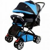 Baby Keeper Çift Yönlü Bebek Arabası Mavi