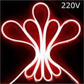 Powermaster 9*16 Hortum Led 10 Metre Kırmızı 220 Volt (Minimum 1