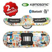 Hover Wheels Smart Balance Elektrikli Smart Kaykay Hoverboard