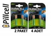 Duracell Recharge 900 Mah Şarjedilebilir Aaa İnce Pil X 2 Paket