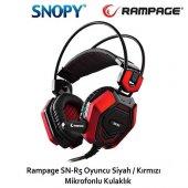 Rampage Sn R5 X Core Mik. Kulaklık Siyah Kırmızı...
