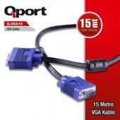 Qport Q Vga15 15 Metre Vga Kablo