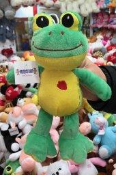 22cm Sevimli Kurbağa Peluş Oyuncak Kaliteli Sağlıklı Peluşcu Bab