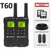 Motorola Tlkr T61 8 Km Açık Alan Pmr El Telsizi