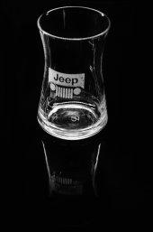Jeep Logolu Tekli Çay Bardağı Ve Altlığı