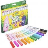 Crayola Silly Scents Kalın Keçeli Boya Kalemi 12li