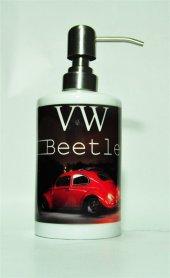 Volkswagen Beetle Baskılı Banyo Seti