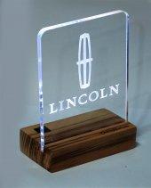 Lincoln Logolu Masaüstü Led Aydınlatma