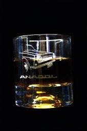 Anadol Logolu Kesme Viski Bardağı Adet