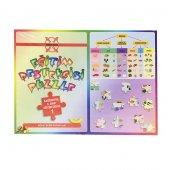 Besin Grupları Oyuncak Puzzle 108 Parça Eğitic Oyuncak