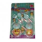 Kartelada Mutfak Seti Kız Evcilik Oyuncak Eğitici Oyuncak