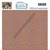 Yapışkanlı Maket Kaplama Kağıdı Duvar Etiketi 3 3lü