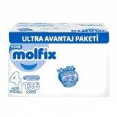 Molfix 3d Maxi 136lı Ultra Avantaj Paketi 7 14 Kg 4 Numara