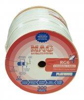 Rg6 U4 Mag Platınum Trıshıeld Anten Kablo 64 Tel (300 Metre)