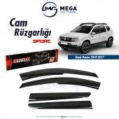 Dacia Duster 2010 2017 Cam Rüzgarlık Mugen Tip Sunplex