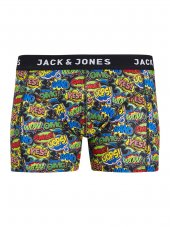 Jack Jones Jacwally Trunks Noos Erkek Boxer 12145192 Cyber Yellow