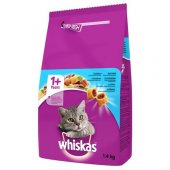 Whiskas Ton Balıklı Kuru Kedi Maması 1,4kg