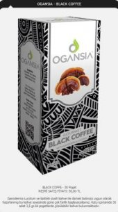 Ogansia Black Coffee Ogansia Klasik Kahve 30x3.5g