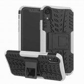 Edelfalke Apple İphone Xr 6.1 Hibrit Silikon Kılıf Beyaz