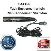 Akg C411 Pp Yaylı Enstrumanlar İçin Mini Kondenser Mikrofon