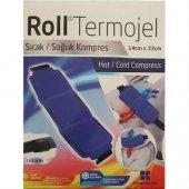 Roll Termojel Bel Sıcak Soğuk Kompres Kumaşlı 14x33 Cm