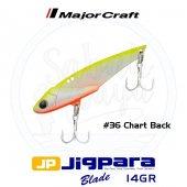 Major Craft Jigpara Jpb 55 Blade Vibrasyon Jig 55mm 14gr #36 Char