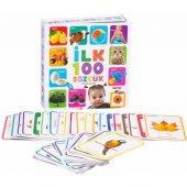 Dıy Toy İlk 100 Sözcük Flash Cards Eğitici Öğretici Kartlar