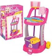 Barbie Orjinal Lisanslı Temizlik Arabası Aksesuarı Viledalı Temizlik Seti Eğitici Ebeveyn Rol Oyunu