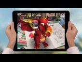 Canlanan Kitap Canavar Kamyon Araba Yarış Oyunlu 4d Boyama Kitabı