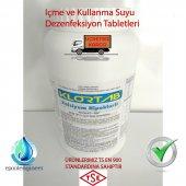 2,8 Kg Tablet Klor İçme Suyu Dezenfektanı Yosun Ön...