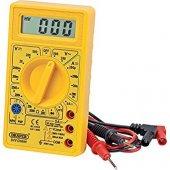 830d Dijital Ölçüm Aleti Multimetre Multimeter (Akım Voltaj Direnç Amper Ölçer Aumetre)