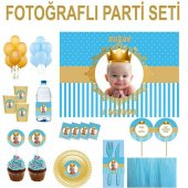 Doğum Günü Küçük Prens Parti Seti 12 Kişilik