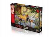 Ks Puzzle 1000 Parça Horses By The Stream 11388
