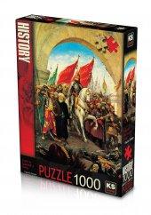 Ks Puzzle 1000 Parça Fatihin İstanbula Girişi 11104