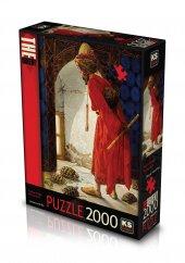 Ks Puzzle 2000 Parça Kaplumbağa Terbiyecisi 11296
