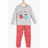 Koton 9kkg21222ok Kız Çocuk Pijama Tk