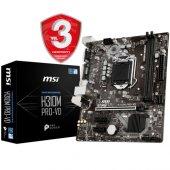 Msı H310m Pro Vd Ddr4 2666 Mhz S+v+gl 1151p8